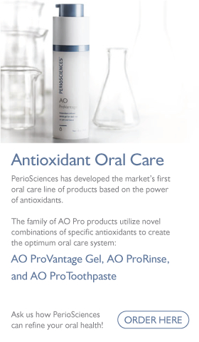 PerioSciences' Antioxidant Oral Care makes dental hygiene easy in Seattle.