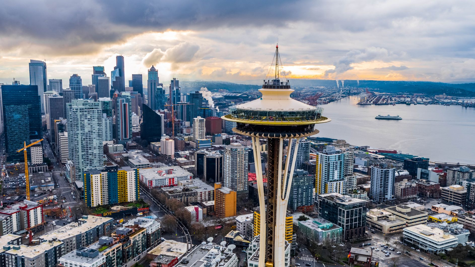 Downtown Seattle Skyline - Advanced Cosmetic Implant & Laser Dentistry