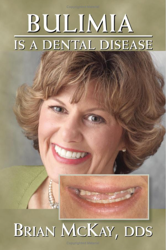 Bulimia is a Dental Disease Book Cover - Advanced Cosmetic Implant & Laser Dentistry